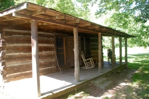 Field cabin at Charit Creek