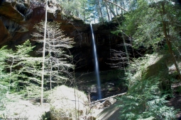East Bee Branch Falls