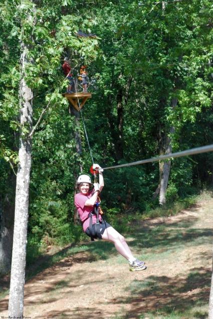 Zipline at Guntersville State Park