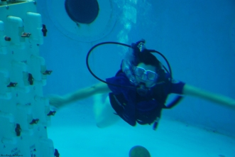 Scuba Experience at the Space and Rocket Center