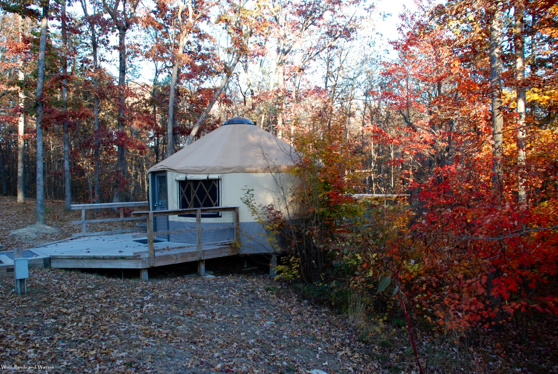 Cloudland canyon state park woodlands and waters so whats a yurt you ask in its simplest form its a round roofed tent typically built on a wooden platform at cloudland canyon they are a publicscrutiny Gallery