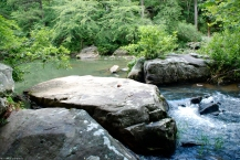 Boulders in West Fork