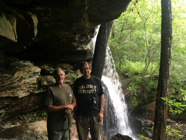 Ted and Chet at Indian Falls