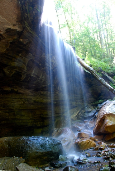 Big Laurel Falls, Virgin Falls State Natural Area