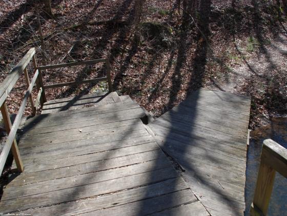 Bridge ramp