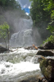 High Falls, Lake Glenville, NC