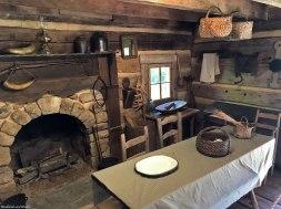 Twain Cabin interior