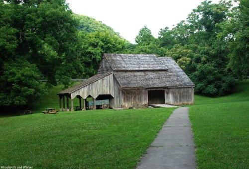 Caleb Crosby Thresher Barn