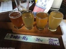 Clinch River Brewing Beer Flight