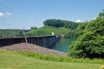 Norris Dam, Lake Side