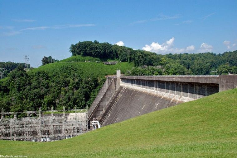 Norris Dam, River Side