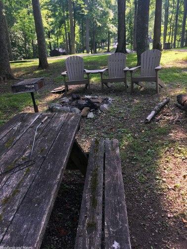 Cabin 20 fire pit