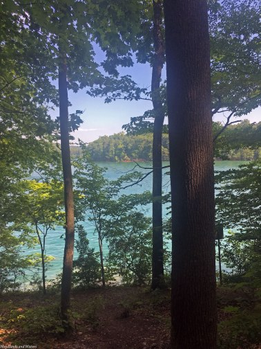 Norris Lake from the trail