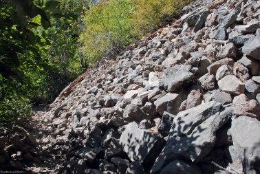 Second (small) landslide