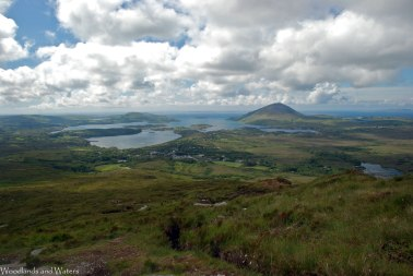 Tully Mountain, Connemara National Park, Ireland